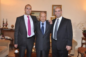 Melbourne Mayors visit to General Aoun (10)