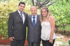 Melbourne Mayors visit to General Aoun (13)