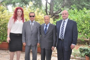 Melbourne Mayors visit to General Aoun (14)