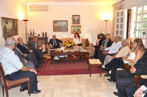 Melbourne Mayors visit to General Aoun