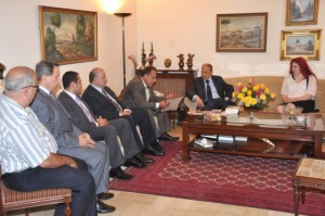 Melbourne Mayors visit to General Aoun (3)