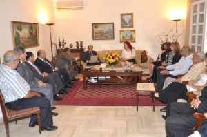 Melbourne Mayors visit to General Aoun (4)