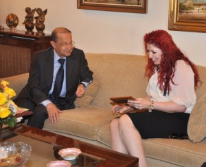 Melbourne Mayors visit to General Aoun (6)