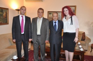 Melbourne Mayors visit to General Aoun (8)