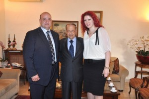 Melbourne Mayors visit to General Aoun (9)