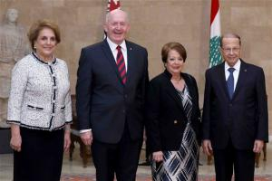 Australian Governor General meets Lebanon's President